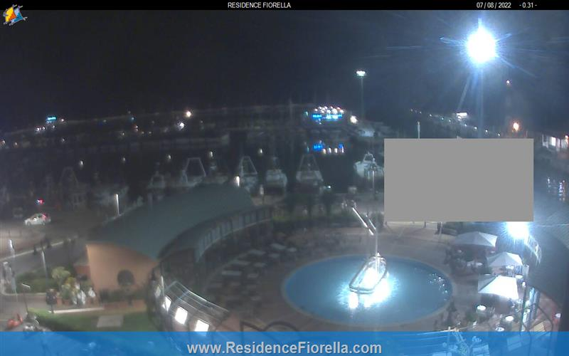 Gabicce Mare webcam - Residence Hotel Fiorella webcam, Marche, Pesaro and Urbino