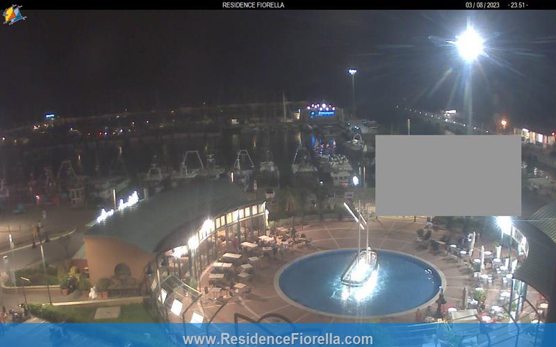 Gabicce Mare webcam - Gabicce Mare Harbour webcam, Marche, Pesaro and Urbino